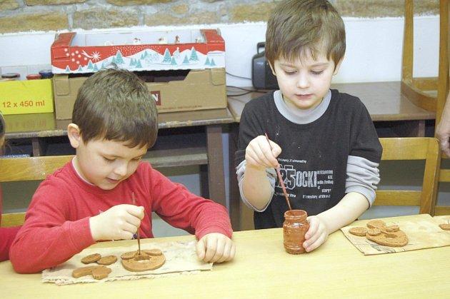 Na velikonoce se připravují i děti z mateřské školy