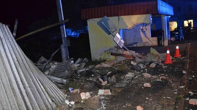 Dopravní nehoda v Jílovém.