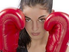 BOXERKA Z DĚČÍNA. Lucii se daří, může se radovatz titulu nejlepší boxerky České republiky.
