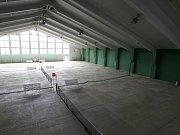 Děčínskou sportovní halu zasáhla povodeň v roce 2013.
