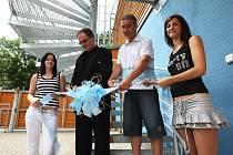 Novou ubytovnu v areálu děčínského Aquaparku dnes slavnostně otevřel děčínský primátor Vladislav Raška
