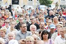 Další protesty ve Varnsdorfu