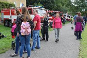 Lidé v Děčíně si v sobotu na nábřeží užili Den záchranářů.