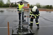 Krajská soutěž hasičů TFA.