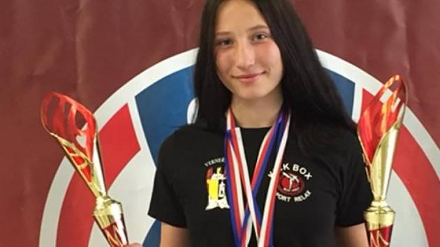 ALEXANDRA SOTONOVÁ získala dva tituly MČR.
