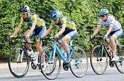 Start první etapy cyklistického závodu žen Tour de Feminin