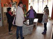Zájemci si mohli prohlédnout dětský domov či se pobavit venku.