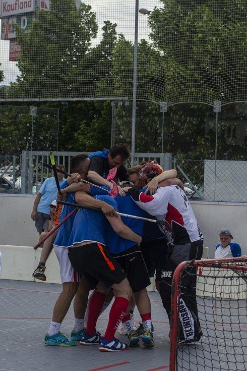 Děčínský florbalový klub uspořádal DC Open.