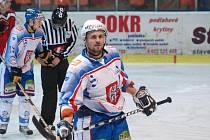Michal Oliverius je nejproduktivnějším hráčem HC Děčín.