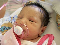 Adélka Fuentesová se narodila Noelii Fuentesové z Děčína 31. srpna v 5.28 v děčínské porodnici. Měřila 45 cm a vážila 2,32 kg.