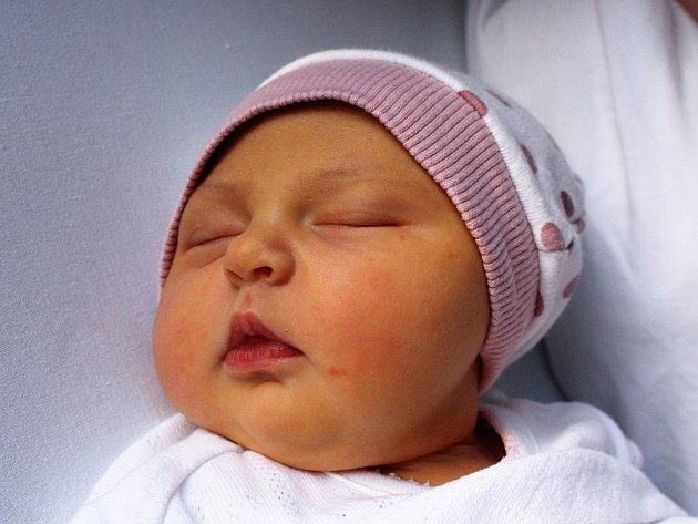 Nina Kunclová se narodila Veronice Vonkové z Děčína 24. ledna v 8.24 v děčínské porodnici. Vážila 3,5 kg.