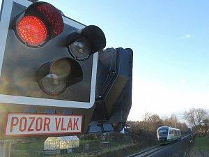 Pozor, vlak! Ilustrační foto.