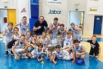 Mladí děčínští basketbalisté ovládli domácí Warriors Cup.