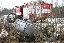 Nehoda u Rumburku.