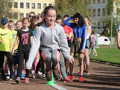 PĚT DISCPLÍN. Děti sportovaly ve Varnsdorfu.