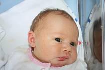 Mamince Vendule Třešňákové z Děčína se 8. září v 9.49 narodila v děčínské nemocnici dcera Nikolka Hájková. Měřila 49 cm a vážila 3,38 kg.