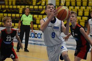 Basketbalová mládež - ilustrační foto.