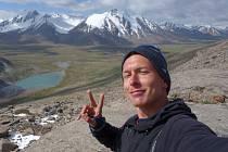 V HORÁCH. Luboš Stria se během dovolené podíval do hor.