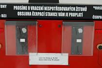 Test ručních mycích boxů a vysavačů u děčínských čerpacích stanic