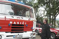 Dobrovolní hasiči ze Starého Města mají autocisternu