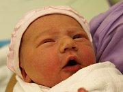 Sofinka Mocová se narodila Veronice Piskačové z Markvartic 14. února v 18.10 v děčínské porodnici. Vážila 2,98 kg.