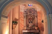 Kaple v Loretě Rumburk.