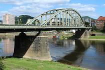 Tyršův most v Děčíně.