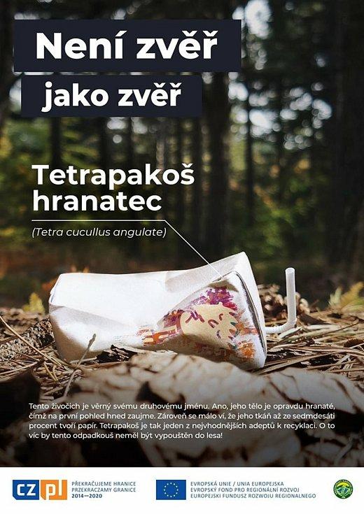 Národní parky spustí kampaň upozorňující na nepořádek v krajině.