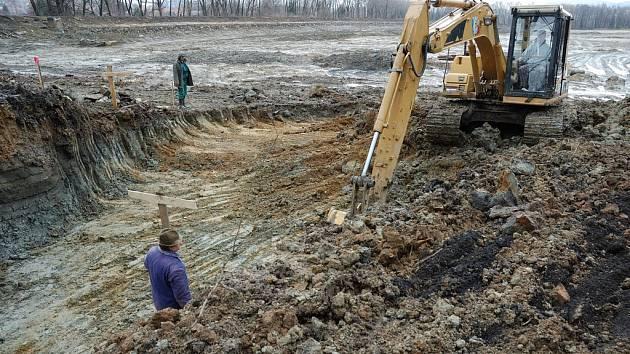 Revitalizace rekreačního rybníku Mašiňák ve Varnsdorfu je v plném proudu