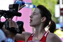 ANEŽKA DRAHOTOVÁ, odchovankyně rumburské atletiky.