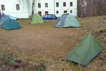 Turisté si užili už 38. ročník Nejsevernějšího zimního táboření.