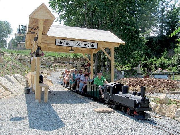 Park miniatur v obci Wehlen.