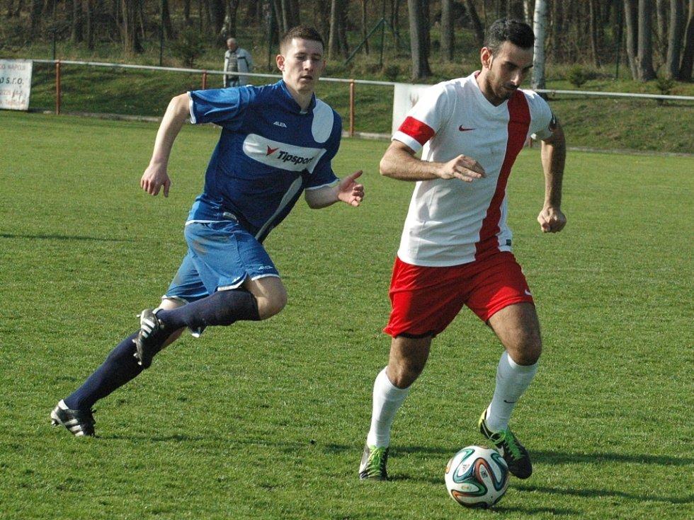 ZVLÁŠTNÍ VĚCI se děly v utkání Modré (modré dresy) proti Krupce.