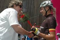 TOUR DE FEMININ 2016. Mezinárodní cyklistický závod byl ve čtvrtek zahájen I. etapou v Krásné Lípě.