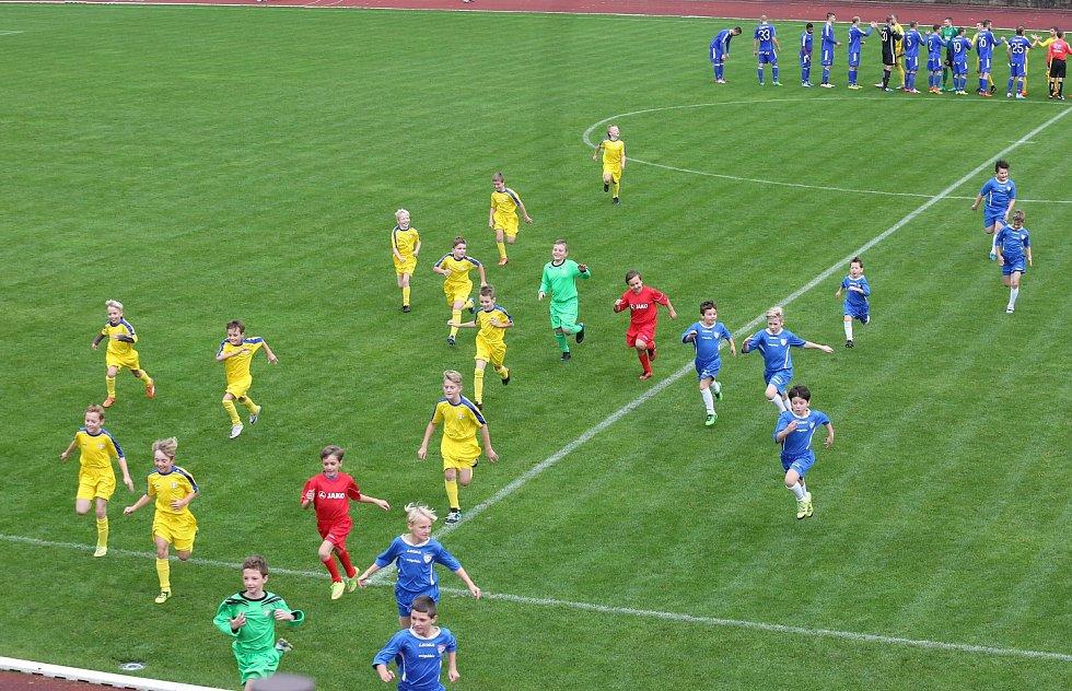 FK Varnsdorf vs. Baník Ostrava.