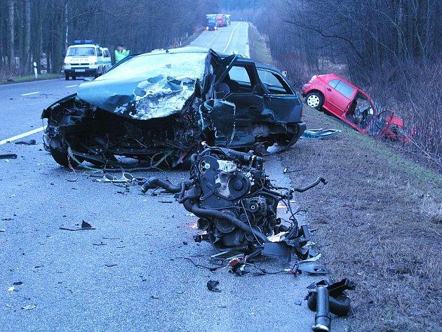 Vážná dopravní nehoda mezi Varnsdorfem a Rumburkem