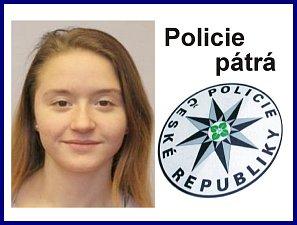 Pohřešovaná Natálie Tvrdíková.