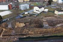 Výstavba nové školky ve Varnsdorfu.