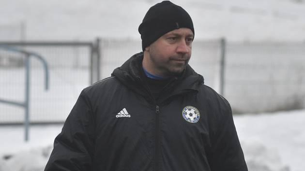 Pavel Drsek, trenér FK Varnsdorf.