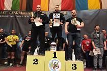 MATĚJ SYROVÁTKA (uprostřed) z OST Varnsdorf vyhrál na MČR v Trutnově prakticky všechno.