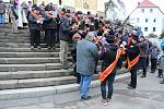Mikulášovicemi projela tradiční velikonoční jízda.