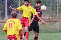 DĚČÍNSKÝ UNION překvapil, když v Soběchlebech vyhrál 2:0.