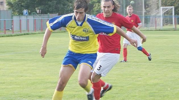 Derby utkání Šluknov versus Rumburk.