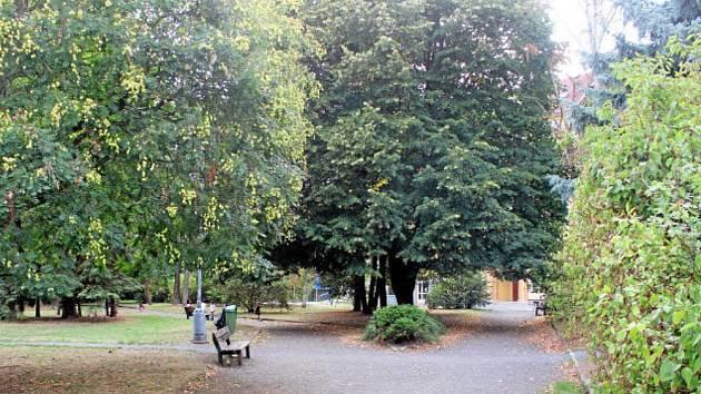 Park v Podmoklech bude bezpečnější.