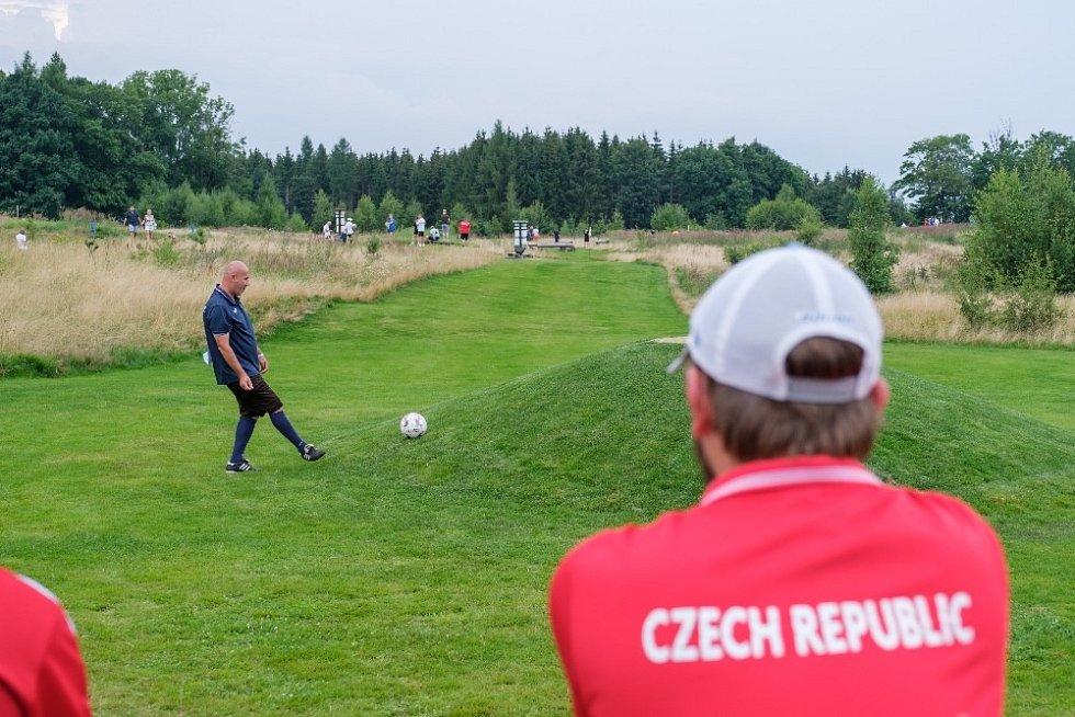 Fotbalgolfové mistrovství světa proběhlo opět na Dymníku v Rumburku.