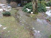 Záplava v Jílovém