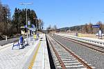 Dolní nádraží v Mikulášovicích prošlo nákladnou opravou.