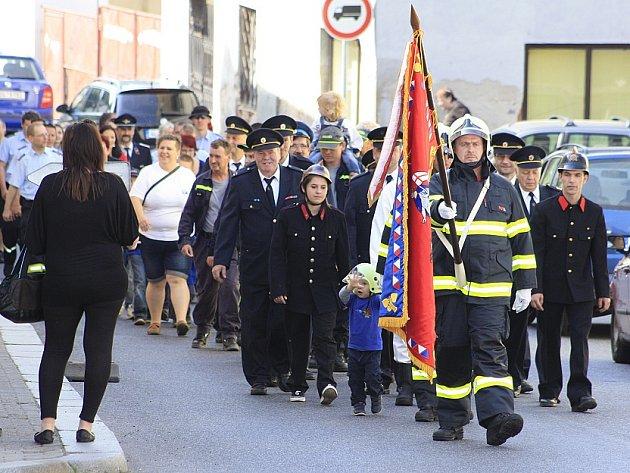 Dobrovolní hasiči v Benešově slavili 140. výročí.