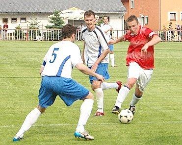 Utkání Jiskra Modrá - Loko Chomutov.