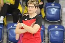 LENKA DEMUTHOVÁ dovedla volejbalové juniorky až do závěrečné kvalifikace o postup do extraligy.